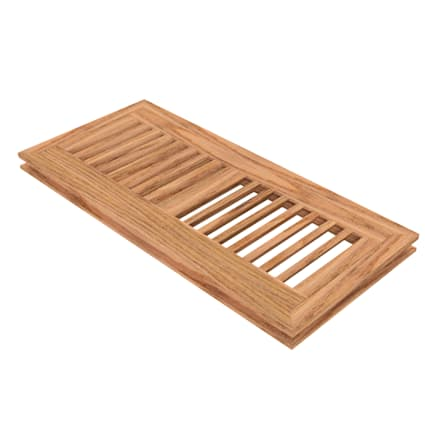 """4"""" x 12"""" Unfinished Red Oak Flush Grill"""