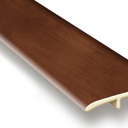 King County Oak Vinyl Waterproof 1.75 in wide x 7.5 ft Length T-Molding