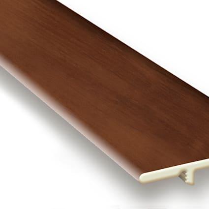 King County Oak Vinyl Waterproof 1.5 in wide x 7.5 ft Length End Cap