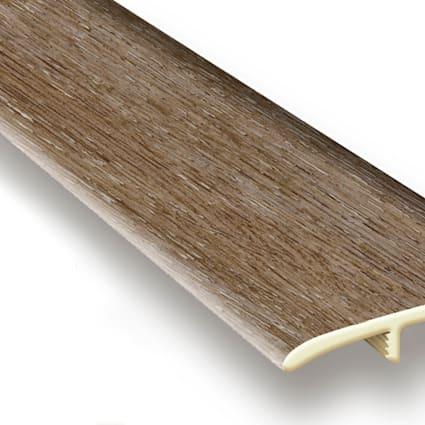 Malted Oak Vinyl Waterproof 1.75 in wide x 7.5 ft Length T-Molding