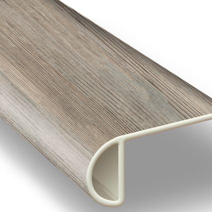 Edgewater Oak Vinyl Waterproof 2.3 in wide x 7.5 ft Length Low Profile Stair Nose