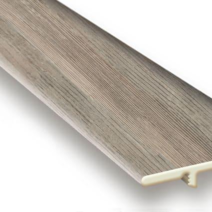 Edgewater Oak Vinyl Waterproof 1.5 in wide x 7.5 ft Length End Cap