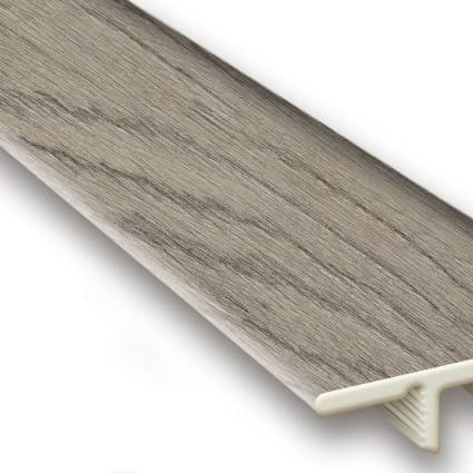 Driftwood Hickory Vinyl Waterproof 1.5 in wide x 7.5 ft Length End Cap