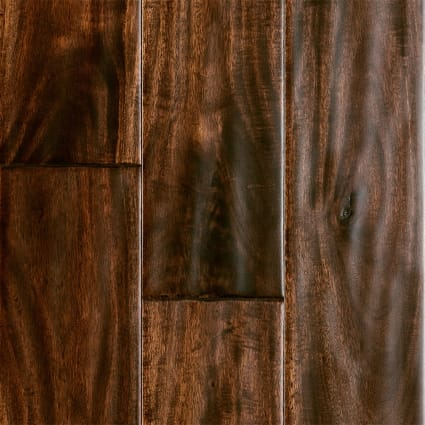 9/16 in. x 5 in. Burnished Acacia Distressed Engineered Hardwood Flooring