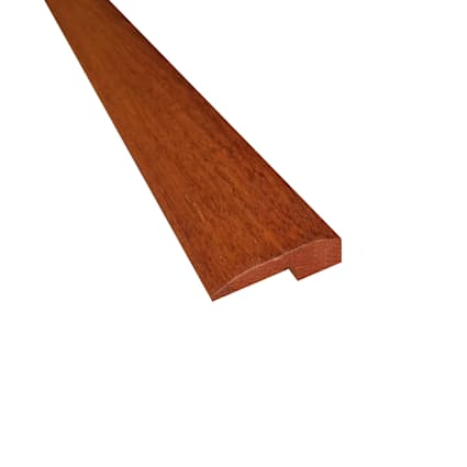 Prefinished Matte Brazilian Chestnut Hardwood 5/8 in thick x 2 in wide x 78 in Length Threshold