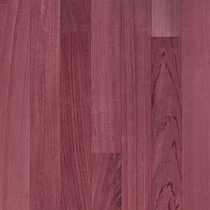 3/4 in. x 3 1/4 in. Select Purple Heart Solid Hardwood Flooring