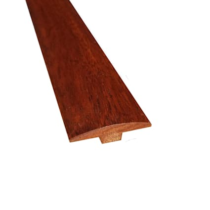 Prefinished Golden Acacia Hardwood 1/4 in thick x 2 in wide x 78 in Length T-Molding