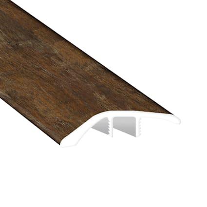 Copper Barrel Oak Vinyl Waterproof 1.5 in wide x 7.5 ft Length Reducer