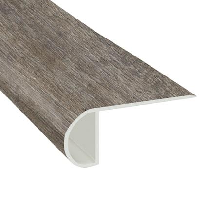 Rocky Coast Pine Vinyl Waterproof 2.25 in wide x 7.5 ft Length Low Profile Stair Nose