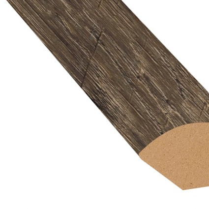 Rose Canyon Pine Vinyl 1.075 in wide x 7.5 ft Length Quarter Round