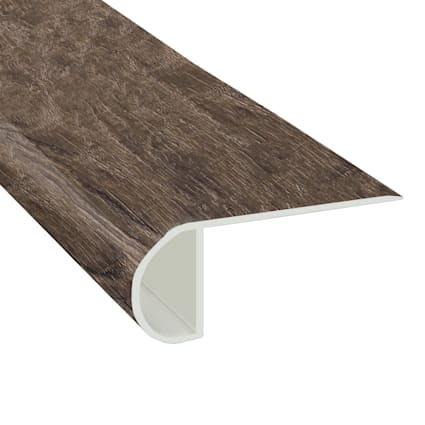 Rose Canyon Pine Vinyl Waterproof 2.3 in wide x 7.5 ft Length Low Profile Stair Nose