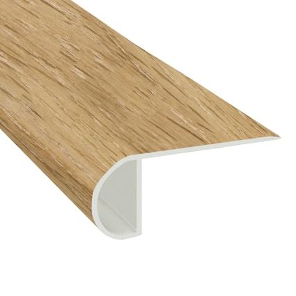 Corn Silk Oak Vinyl Waterproof 2.25 in wide x 7.5 ft Length Low Profile Stair Nose
