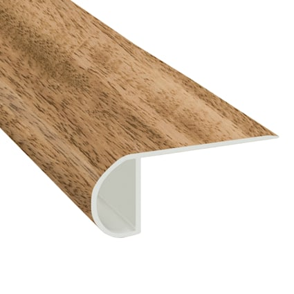 Golden Acacia Vinyl Waterproof 2.25 in wide x 7.5 ft Length Low Profile Stair Nose