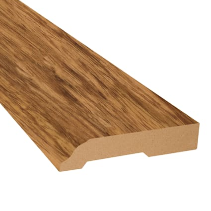 Brazilian Cherry Koa Vinyl 3.25 in wide x 7.5 ft Length Baseboard