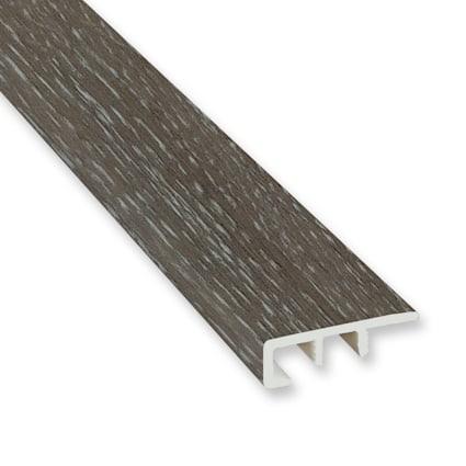 Fieldstone Oak Vinyl Waterproof 1.5 in wide x 7.5 ft Length End Cap