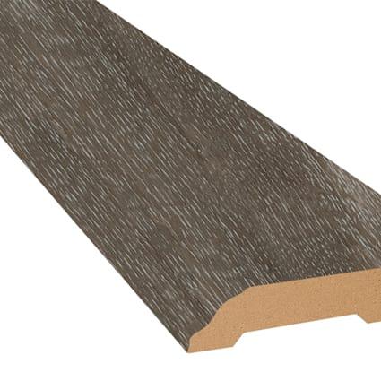 Fieldstone Oak Vinyl 3.25 in wide x 7.5 ft Length Baseboard