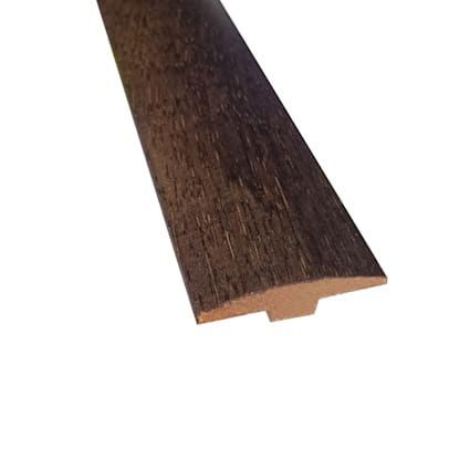 Prefinished Chestnut Hevea Hardwood 1/4 in thick x 2 in wide x 78 in Length T-Molding