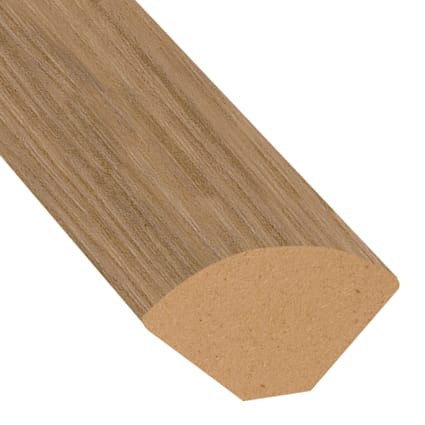 Mojave Hickory Vinyl 1.075 in wide x 7.5 ft Length Quarter Round
