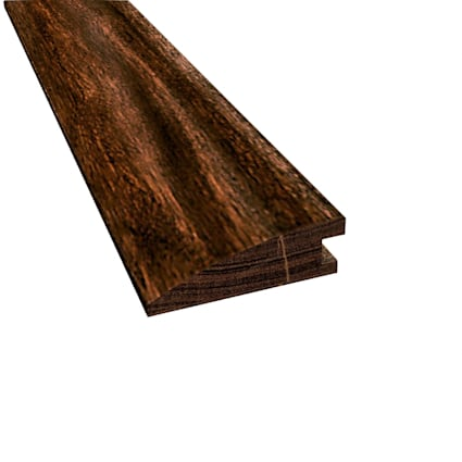 Prefinished Burnished Acacia Hardwood 5/8 in thick x 2 in wide x 78 in Length Reducer