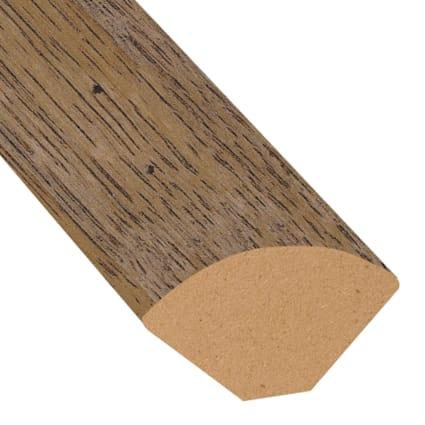 Copper Sands Oak Laminate 1.075 in wide x 7.5 ft Length Quarter Round