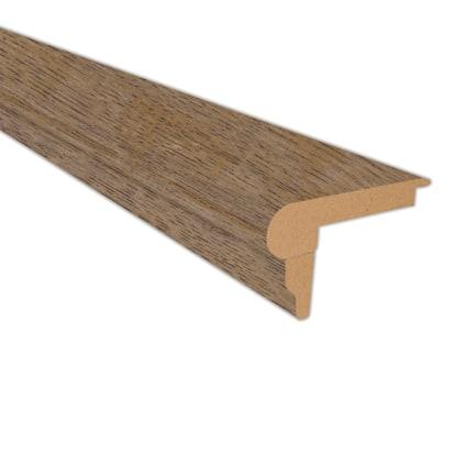 Copper Sands Oak Laminate 2.3 in wide x 7.5 ft Length Flush Stair Nose