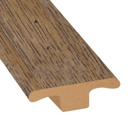 Copper Sands Oak Laminate 1.75 in wide x 7.5 ft Length T-Molding