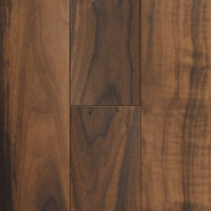 47 in. x 7 in. Elegant Wood American Walnut Porcelain Tile
