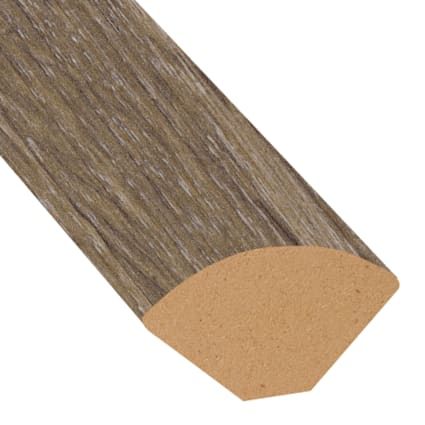 Beach Cottage Oak Laminate 1.075 in wide x 7.5 ft Length Quarter Round