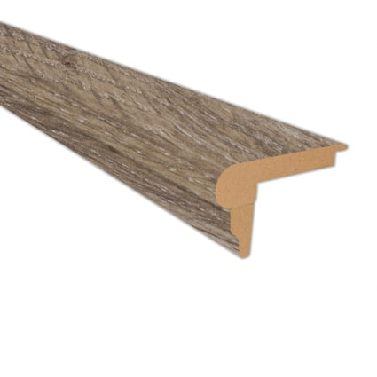 Beach Cottage Oak Laminate 2.3 in wide x 7.5 ft Length Flush Stair Nose