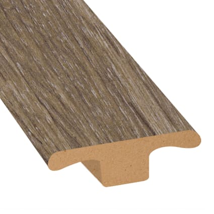 Beach Cottage Oak Laminate 1.75 in wide x 7.5 ft Length T-Molding