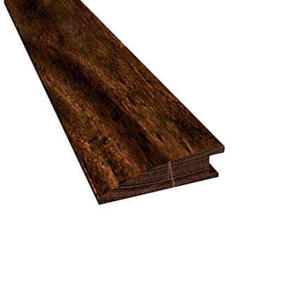 Prefinished Burnished Acacia Hardwood 9/16 in thick x 2 in wide x 78 in Length Reducer