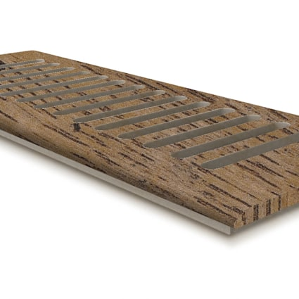 "DH Copper Sands Oak 4x10"" DI Grill"