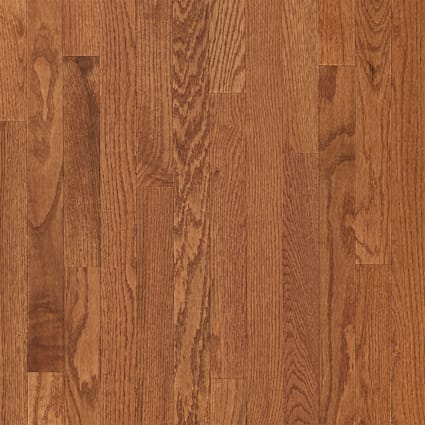 3/4 in. x 2.25 in. Gunstock Oak Solid Hardwood Flooring