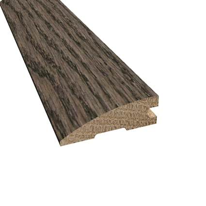 Prefinished Gray Fox Oak Hardwood 3/4 in thick x 2.25 in wide x 78 in Length Reducer