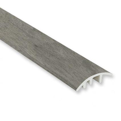 Stormy Gray Oak Vinyl Waterproof 1.5 in wide x 7.5 ft Length Low Profile Reducer