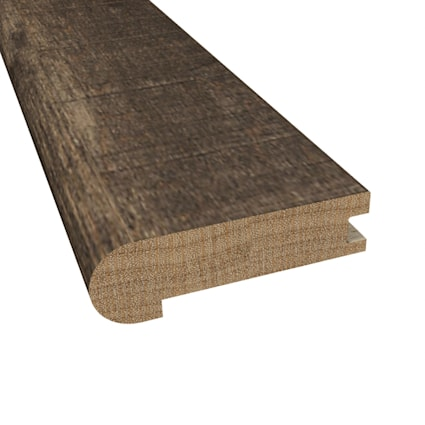 Prefinished Distressed Rattan Maple Hardwood 3/4 in thick x 3.125 in wide x 78 in Length Stair Nose