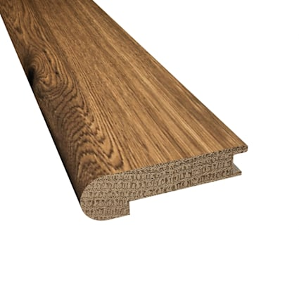 Prefinished Winchester Oak Hardwood 9/16 in thick x 2.75 in wide x 78 in Length Stair Nose