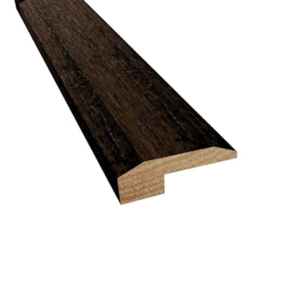Prefinished Pioneer Leather Hickory Hardwood 5/8 in thick x 2 in wide x 78 in Length Threshold