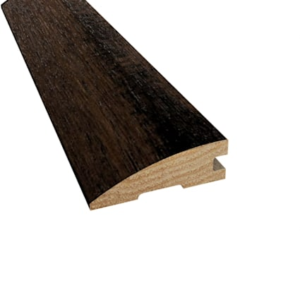 Prefinished Pioneer Leather Hickory Hardwood 3/4 in thick x 2.25 in wide x 78 in Length Reducer