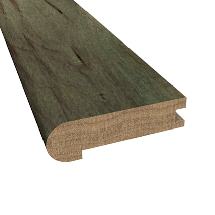 Prefinished Mediterranean Maple Hardwood 3/4 in thick x 3.125 in wide x 78 in Length Stair Nose