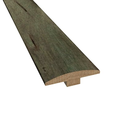 Prefinished Mediterranean Maple Hardwood 1/4 in thick x 2 in wide x 78 in Length T-Molding