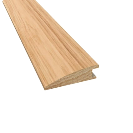Prefinished Rustic Hickory Hardwood 9/16 in thick x 2 in wide x 78 in Length Reducer