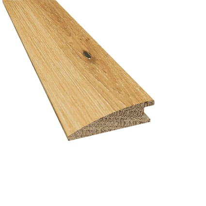 Prefinished Whispering Wheat Oak Hardwood 9/16 in thick x 2 in wide x 78 in Length Reducer