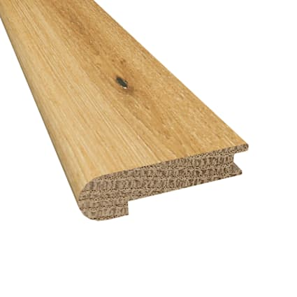 Prefinished Whispering Wheat Oak Hardwood 9/16 in thick x 2.75 in wide x 78 in Length Stair Nose