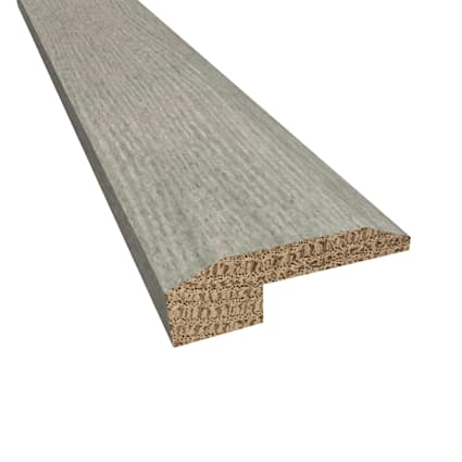 Prefinished Distressed Cashmere Hardwood Gray Oak 5/8 in thick x 2 in wide x 78 in Length Threshold