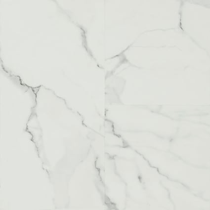 8mm Roman Marble Rigid Vinyl Plank Flooring 11.75 in. Wide x 23.75 in. Long