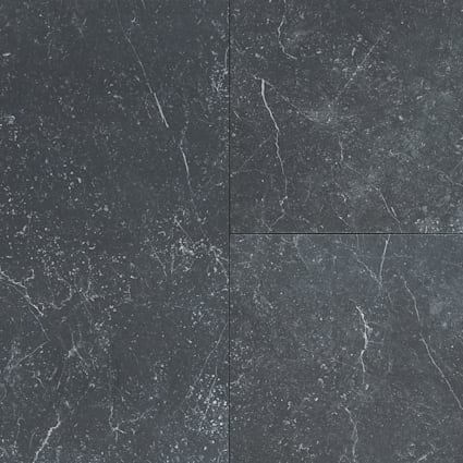 24 in. x 12 in. Galassia Nero Porcelain Tile
