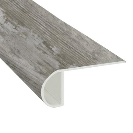 Moonlight Pine Vinyl Waterproof 2.25 in wide x 7.5 ft Length Low Profile Stair Nose