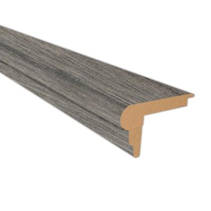 Jamestown Walnut Laminate 2.3 in wide x 7.5 ft Length Flush Stair Nose