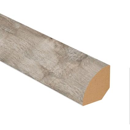 Topsail Oak Laminate 1.075 in wide x 7.5 ft Length Quarter Round